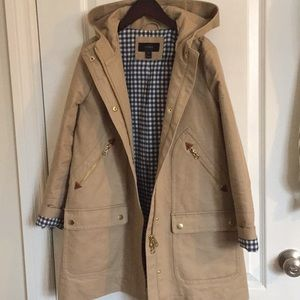 J.Crew Chateau Trench Coat